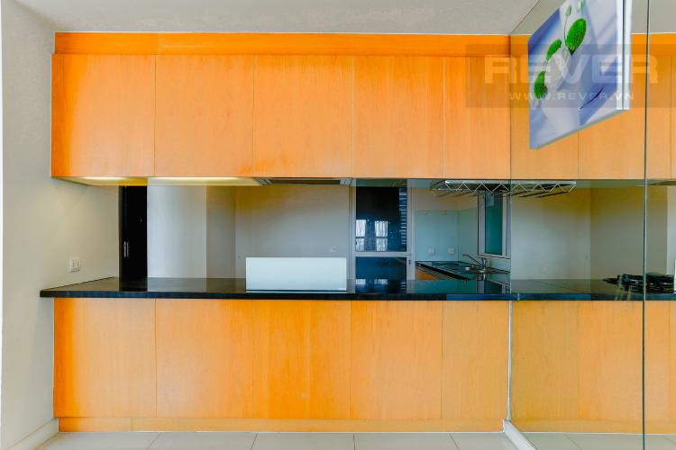 Phòng Bếp Căn hộ Sunrise City tầng thấp tháp V6 khu South, 2 phòng ngủ, nội thất cơ bản.