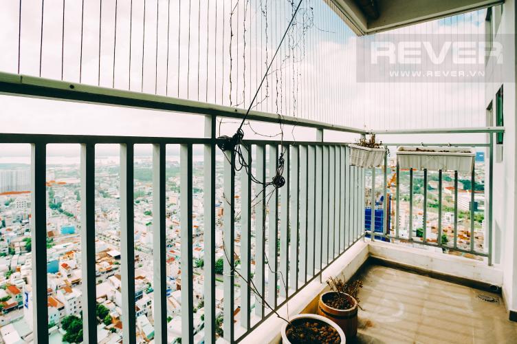 Ban Công Cho thuê căn hộ Riviera Point 2PN, tầng cao, đầy đủ nội thất, view sông thoáng mát