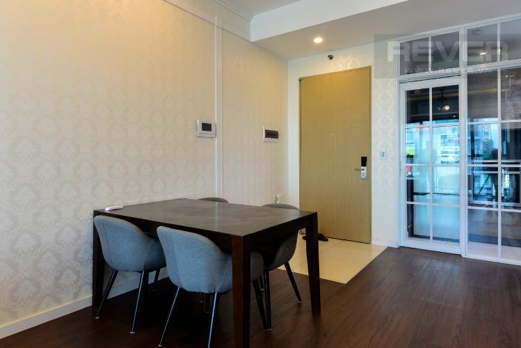 Phòng Ăn Bán hoặc cho thuê căn hộ The Ascent 2PN, đầy đủ nội thất, view Landmark 81