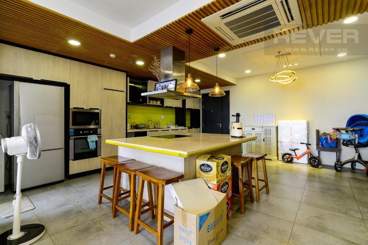 Nhà Bếp Bán căn hộ Tropic Garden 3 phòng ngủ tầng cao, đầy đủ nội thất, không gian yên tĩnh, mát mẻ