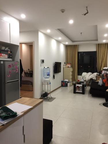 Phòng khách căn hộ New City Thủ Thiêm, Quận 2 Căn hộ New City Thủ ThiêmCity nội thất cơ bản, view thoáng mát.