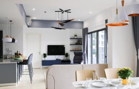 Căn hộ Masteri Thảo Điền 3 phòng ngủ tầng cao T4 view nội khu