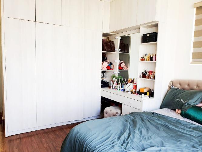 Phòng ngủ căn hộ Sunrise CityView Căn hộ Sunrise CityView, 2 phòng ngủ, diện tích 99m2, đầy đủ nội thất.