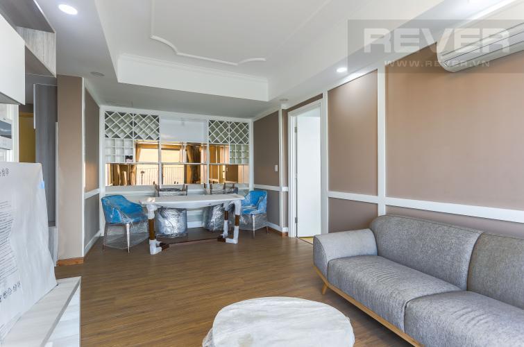 Tổng Quan Cho thuê căn hộ Masteri Thảo Điền tầng cao, 3PN, view sông