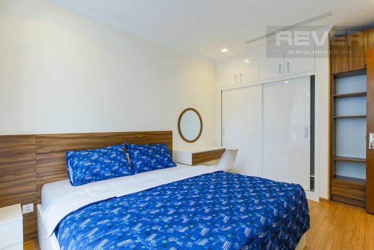 Phòng Ngủ 1 Căn hộ Vinhomes Central Park tầng cao Landmark 1 nội thất mới, tiện nghi đầy đủ