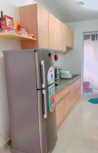 bếp căn hộ CBD Premium Home Căn hộ The CBD Premium Home tầng trung, view thành phố.