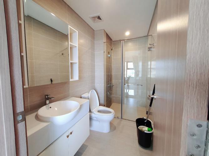 Phòng tắm căn hộ Vinhome Grand Park Căn hộ Vinhomes Grand Park bàn giao nội thất đầy đủ, view thành phố.
