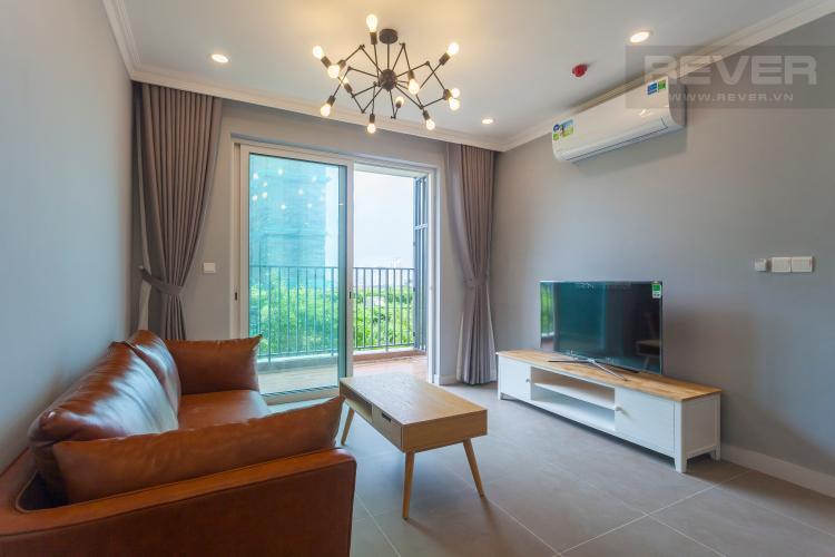 Phòng Khách Căn hộ Vista Verde tầng thấp, tháp T1, 2 phòng ngủ, full nội thất