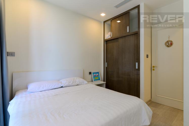 Phòng Ngủ Bán căn hộ Vinhomes Golden River 1PN, tầng thấp, tháp The Luxury 6, view sông thoáng mát