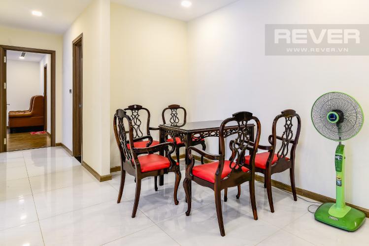 Phòng Ăn Căn hộ Vinhomes Central Park 3 phòng ngủ tầng cao Park 2 hướng Nam, full nội thất