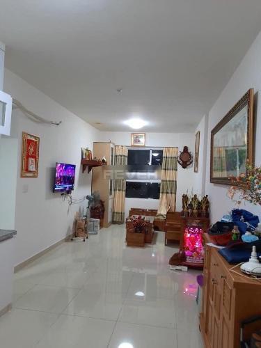 Căn hộ CitiSoho view tầng cao đón gió thoáng mát, đầy đủ nội thất.