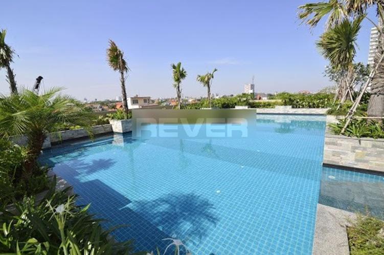 Hồ bơi Tropic Garden, Quận 2 Căn hộ Tropic Garden tầng cao, bàn giao đầy đủ nội thất.