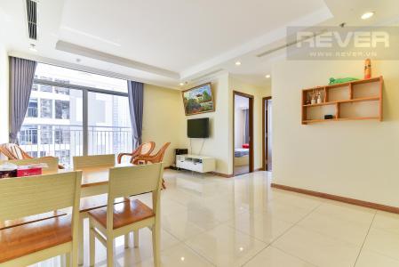 Cho thuê căn hộ Vinhomes Central Park 3PN, tháp Landmark 3, diện tích 106m2, đầy đủ nội thất