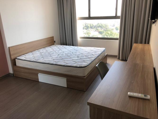 Phòng ngủ Kingston Residence, Phú Nhuận Căn hộ tầng trung Kingston Residence ban công hướng Đông.