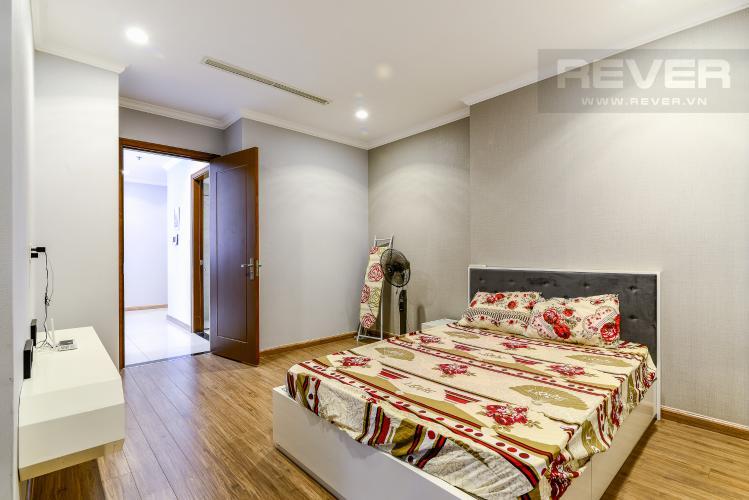 Phòng Ngủ 3 Căn hộ Vinhomes Central Park 3PN nội thất đầy đủ, view sông Sài Gòn