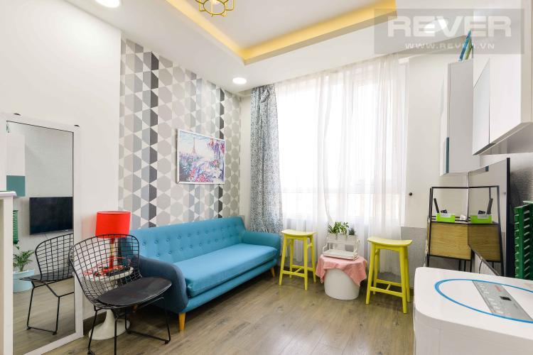 Phòng Khách Bán căn hộ CBD Premium Home tầng thấp, 2 phòng ngủ với nội thất tiện nghi,hiện đại