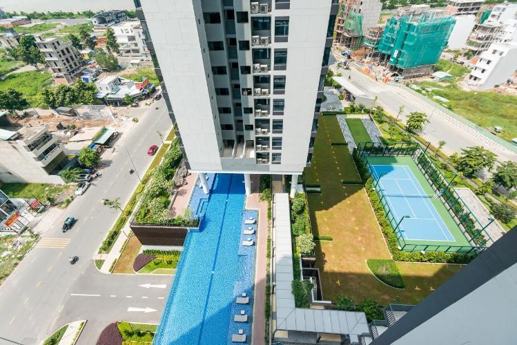 view_tong_nhin_tu_tren_xuong Căn hộ One Verandah thuộc tầng trung, diện tích thông thuỷ 78m