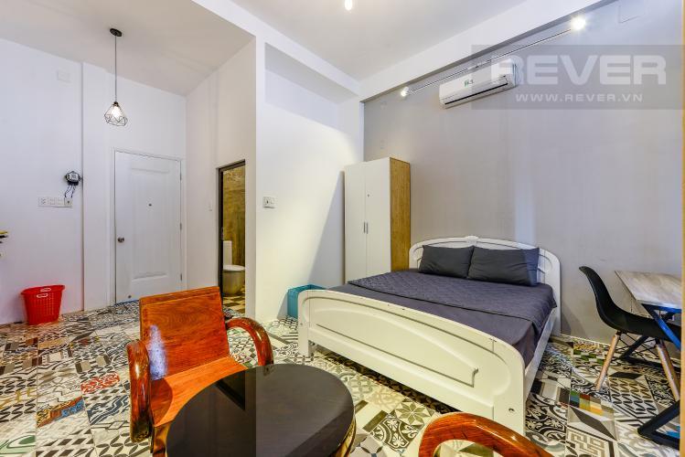 Phòng ngủ Căn hộ dịch vụ 1 phòng ngủ đường Phan Văn Hân Bình Thạnh