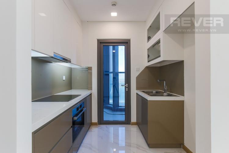 Phòng Bếp Căn hộ Vinhomes Central Park tầng cao, tháp Landmark 81, 2PN 2WC