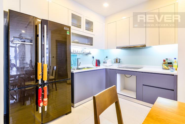 Nhà Bếp Căn hộ Vinhomes Central Park 3 phòng ngủ tầng cao P6 nội thất đẹp