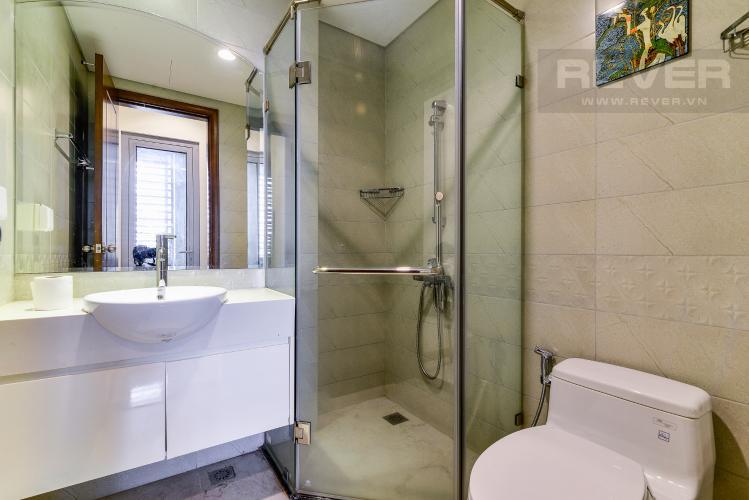 Phòng Tắm 1 Căn hộ Vinhomes Central Park 2PN đầy đủ nội thất, có thể dọn vào ở ngay