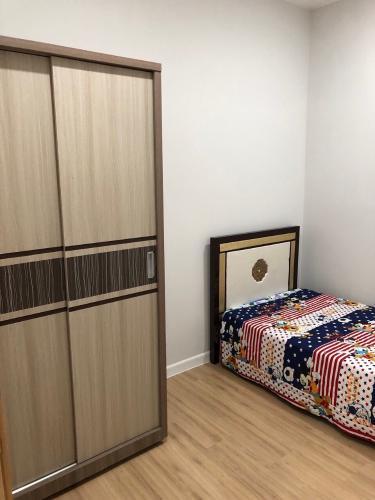 Phòng ngủ  căn hộ An Gia Skyline Bán căn hộ view thành phố An Gia Skyline, trang bị đầy đủ nội thất.