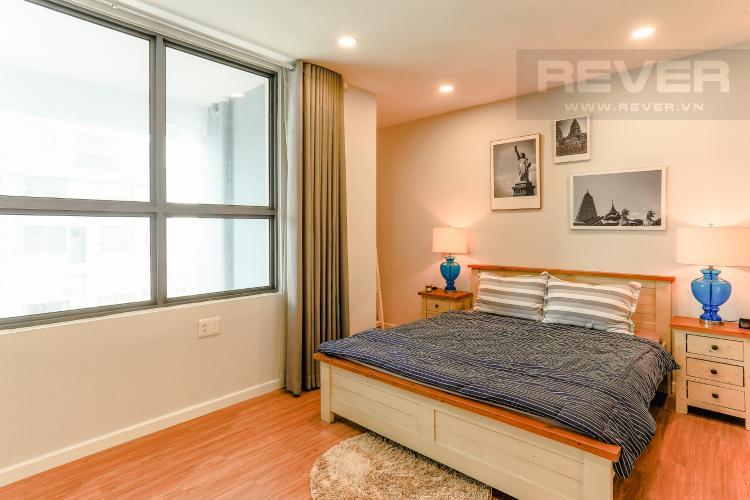 Phòng Ngủ Căn hộ M-One Nam Sài Gòn tầng thấp tòa T2, 1 phòng ngủ, view sông