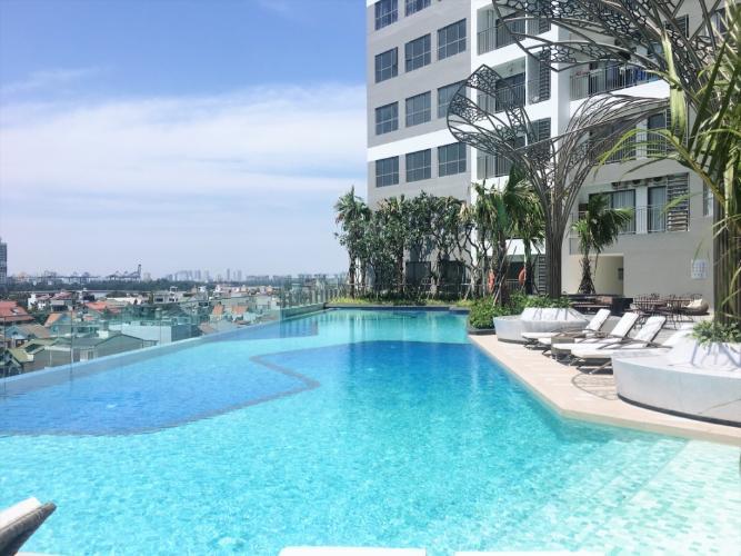 tiện ích căn hộ OT the sun avenue Căn hộ The Sun Avenue ban công hướng Tây Nam thoáng mát.