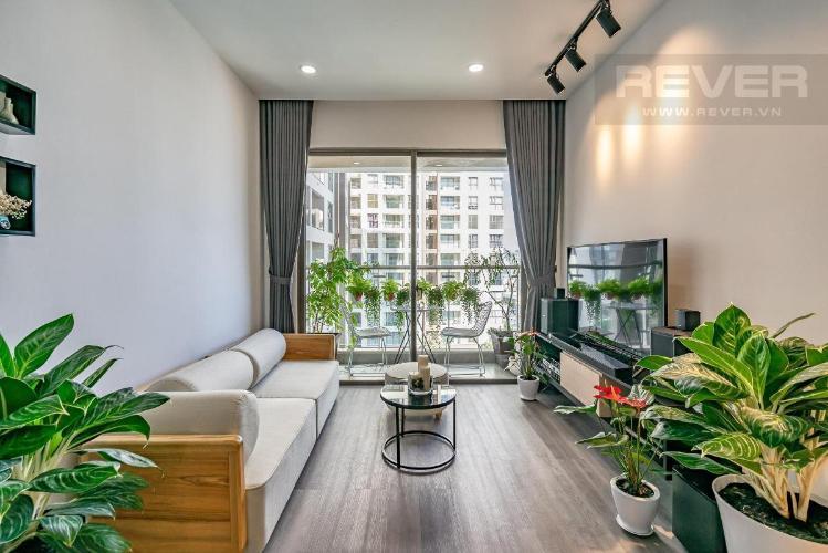 Bán căn hộ Masteri Millennium 2 phòng ngủ, block B, đầy đủ nội thất, view Bitexco