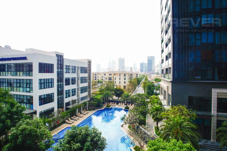 can-ho-VINHOMES-GOLDEN-RIVER Bán căn hộ Vinhomes Golden River 2PN, tháp The Aqua 2, đầy đủ nội thất, view hồ bơi