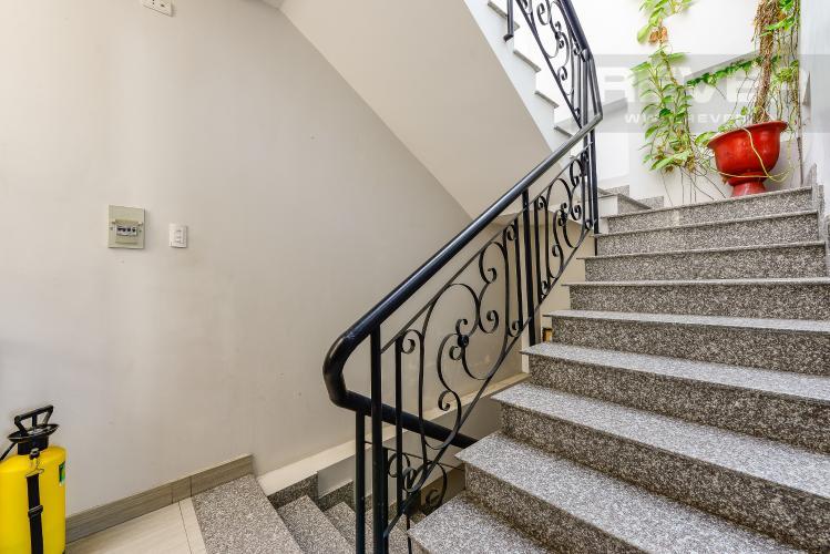 Cầu thang Nhà phố 4 phòng ngủ đường Nơ Trang Long Bình Thạnh diện tích 54m2