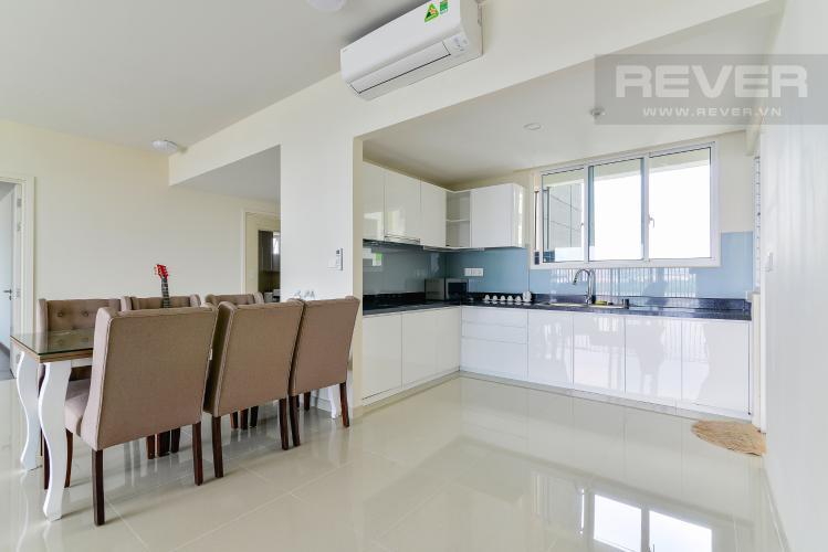 Nhà Bếp Cho thuê căn hộ Vista Verde 4PN, view sông thoáng mát