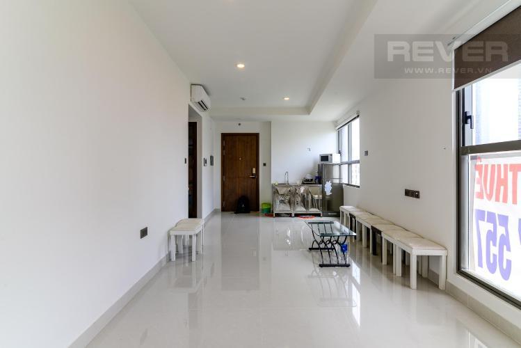 Bán officetel Saigon Royal 1PN, tháp B, diện tích 49m2, nội thất cơ bản, view Bitexco