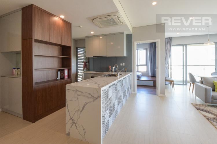 Nhà Bếp Cho thuê căn hộ Diamond Island 3PN 2WC, đầy đủ nội thất, view sông