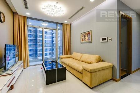 Cho thuê căn hộ Vinhomes Central Park 2PN, tháp Park 2, đầy đủ nội thất, view sông và công viên