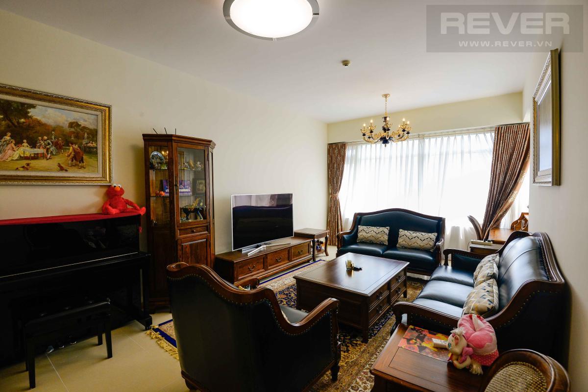 livingroom Bán hoặc cho thuê căn hộ Saigon Pearl 3PN, tầng cao, tháp Sapphire 1, đầy đủ nội thất, view sông và thành phố