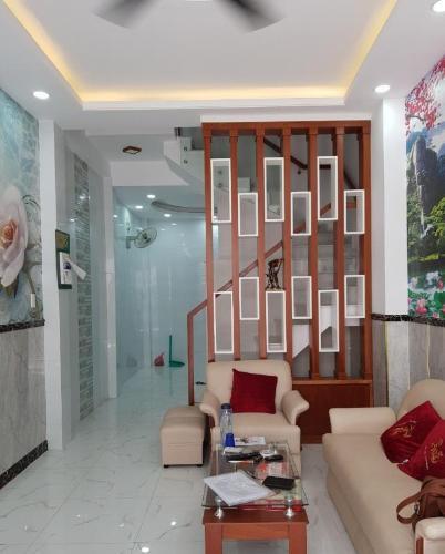 Bán nhà phố đường Lê Trực Phường 7 quận Bình Thạnh, diện tích đất 36m2