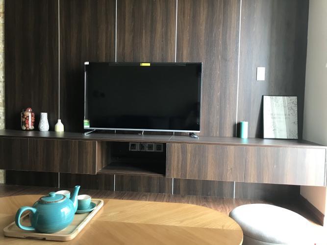 Phòng khách Phú Mỹ Hưng Midtown Căn hộ Phú Mỹ Hưng Midtown tầng trung, đón view nội khu yên tĩnh.