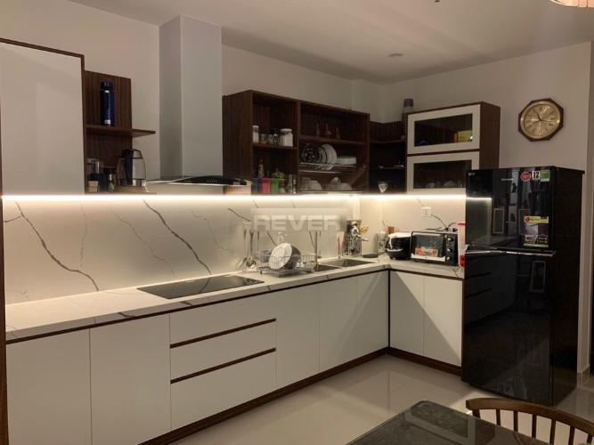 Phòng bếp , Căn hộ Vinhomes Grand Park , Quận 9 Căn hộ Vinhomes Grand Park tầng cao đón view thoáng mát, đầy đủ nội thất.