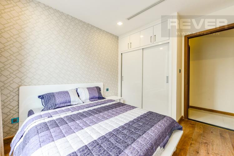 Phòng ngủ 2 Căn hộ Vinhomes Central Park tầng cao, tháp Park 3, 3 phòng ngủ, view sông