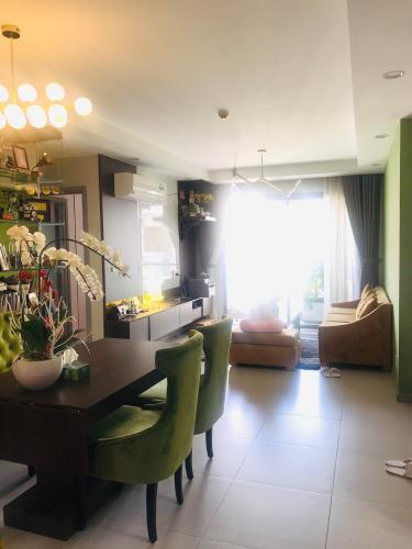 Phòng khách căn hộ The Gold View Căn hộ The Gold View, nội thất đầy đủ, view Bitexco