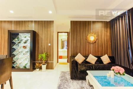 Bán căn hộ Vinhomes Central Park 2PN, tầng 26, đầy đủ nội thất, view sông Sài Gòn