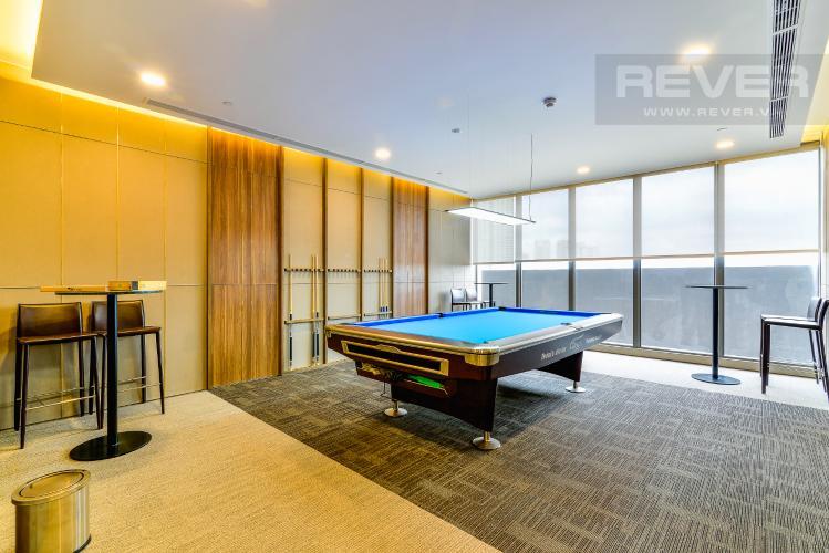Phòng Billiards Căn hộ Nassim Thảo Điền tầng trung, tháp A, 2 phòng ngủ, view sông