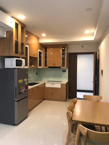 Phòng bếp căn hộ Saigon Royal, Quận 4 Căn hộ Saigon Royal tầng cao hướng Tây Bắc, nội thất đầy đủ.