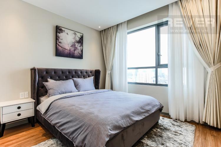 Phòng Ngủ 1 Căn hộ The Gold View tầng trung, tháp A3, 2 phòng ngủ, view sông