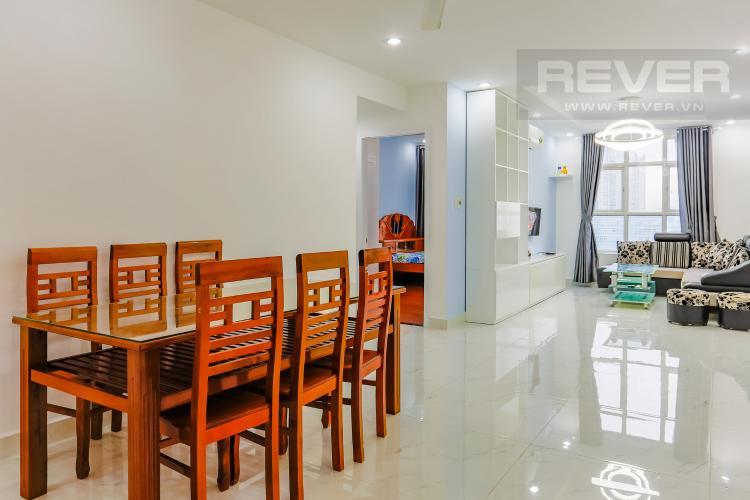 Phòng Ăn Căn hộ Hoàng Anh Thanh Bình 3 phòng ngủ tầng trung full nội thất