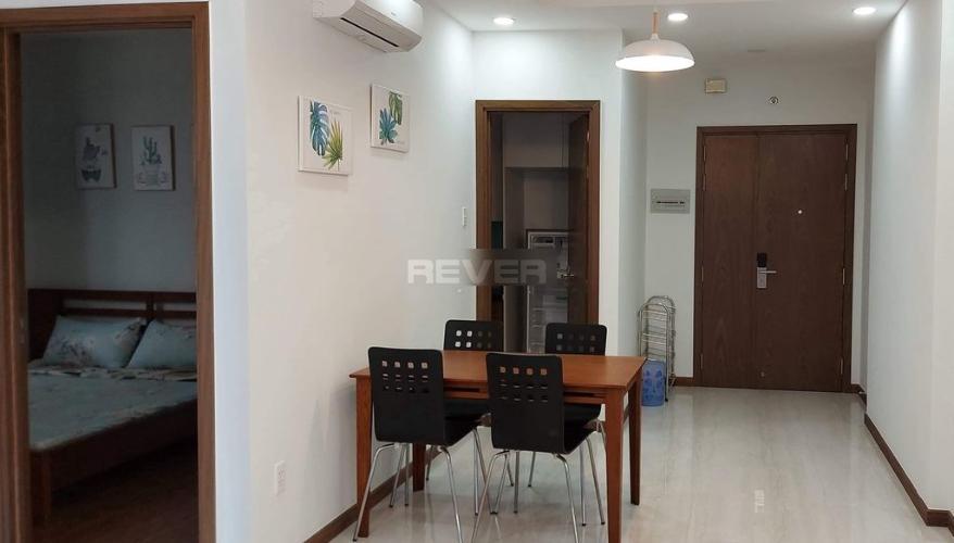 Phòng khách căn hộ Him Lam Phú An, Quận 9 Căn hộ Him Lam Phú An thiết kế hiện đại tinh tế, nội thất đầy đủ.
