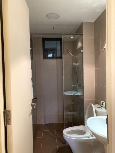 Toilet Masteri Thảo Điền Quận 2 Căn hộ Masteri Thảo Điền đầy đủ nội thất, view thoáng mát.