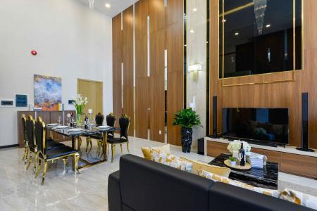 Bán căn Duplex Vista Verde 2PN, đầy đủ nội thất
