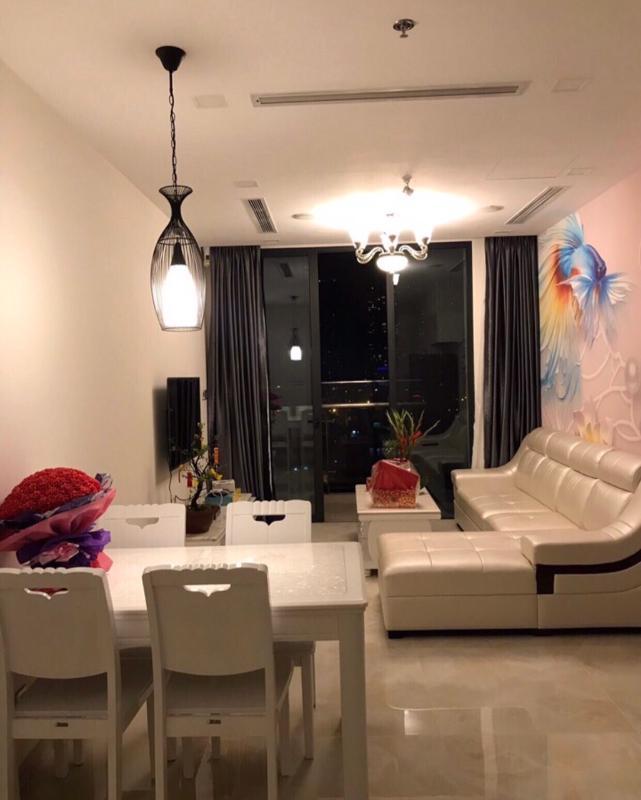 9816f49946b0a0eef9a1 Bán căn hộ Vinhomes Golden River 1 phòng ngủ, tháp The Aqua 4, đầy đủ nội thất, view Landmark 81